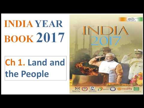 INDIA YEAR BOOK 2017 CHAPTER 1 : Land and the People