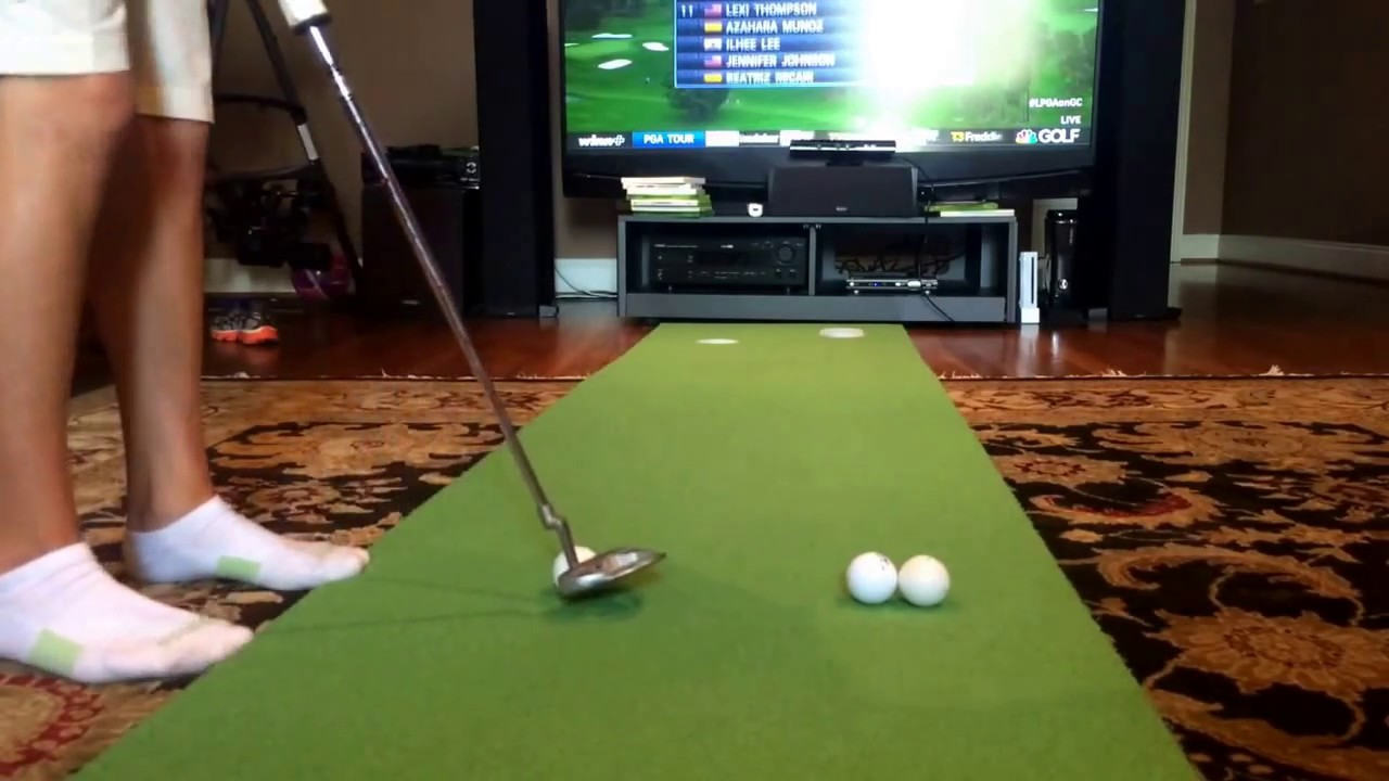 Birdie Ball putting green review. - YouTube