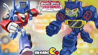 Angry Birds Transformers: Unlocked NEW Characters SoundWave Chef Pig Gameplay