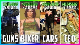 GTA 5 Online - Top 5 BEST Businesses To Buy & Make Money! (CEO VS BIKERS VS IMPORT/EXPORT VS HEISTS)