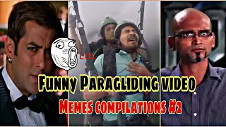 Funny Paragliding Video | Memes Compilations part #2 | SRocker