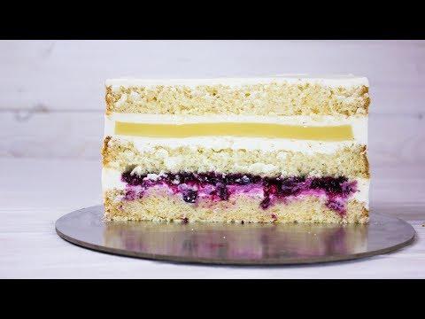 Нежный торт. Рецепт бисквита который не опадает и вкусные начинки с канала Ирина Воскресенская