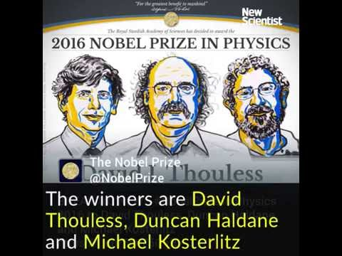 The 2016 Nobel Prize in Physics explained