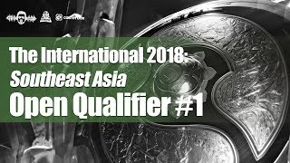 [DOTA 2 LIVE PH] Geek Fam VS TNC TIGGERS |Bo3| The International 2018: Open SEA Qualifiers