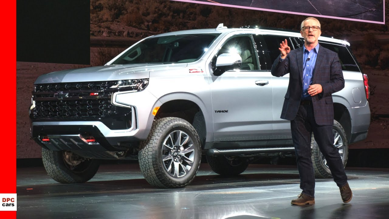 2021 Chevrolet Tahoe & Suburban Unveiling Highlights - YouTube