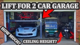 Garage Car Lift - All The Answers You Need Before Buying