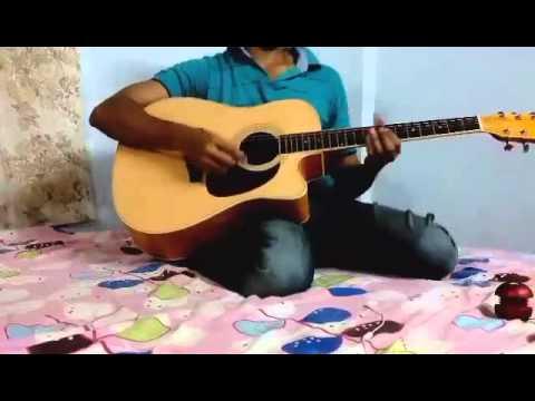 Nenjukkul peidhidum guitar tabs - YouTube