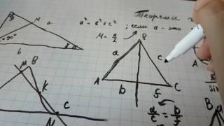 Основные теоремы и аксиомы геометрии.