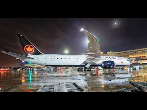 Air Canada | Boeing 787 Dreamliner  | Mumbai Airport | 4k UHD Video