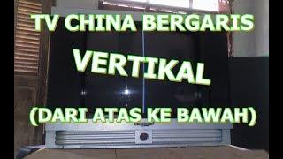 TV BERGARIS VERTIKAL ATAS BAWAH