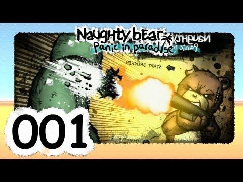 Let's Play Naughty Bear Panic in Paradise #1 [Deutsch] [HD] - Erste Schritte