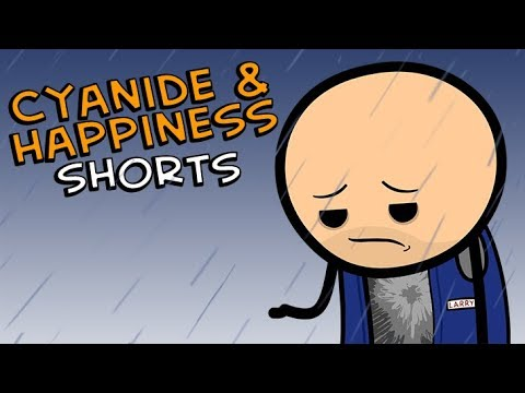 Sad Larry's Sad New Year - Cyanide & Happiness Shorts