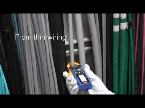 CM4001 Clamp Meter.  Double your speed for checking leakage current.