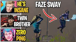 FaZe Sway FINALLY 1v1 His Twin Brother on 0 Ping and this happened...