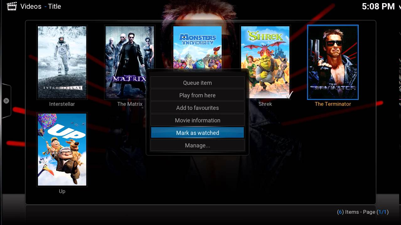 Introduction to the Kodi Movie Library