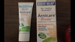 OMG It Works! Product Review Arnicare Bruise