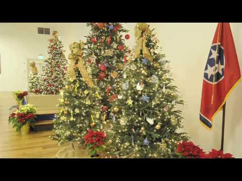 TN Governor's mansion decorated for the holidays