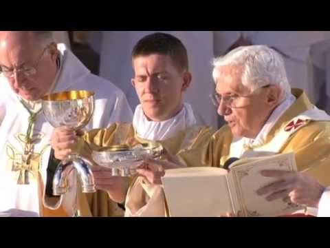 Pope Benedict XVI - Mass in Bellahouston Park, Glasgow - Full video