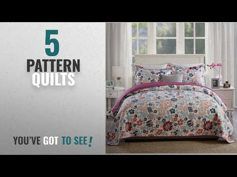 Top 10 Pattern Quilts 2018: Newlake Quilt Bedspread Sets