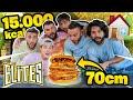 � GLI ELITES CUCINANO L'HAMBURGER PIÙ GRANDE D'ITALIA! *fatto in casa* (15.000 kcal)