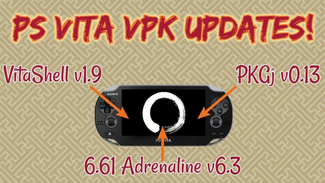 PS Vita VPK Updates - PKGj, Vitashell, and Adrenaline - Видео онлайн