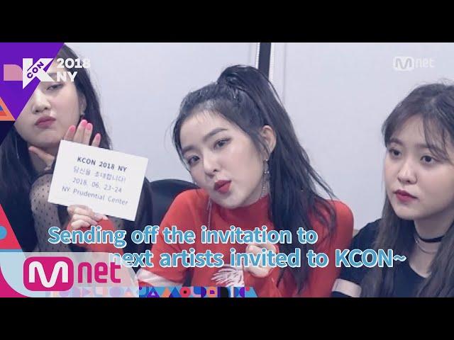 [KCON 2018 NY] LINE-UP RELAY - Red Velvet