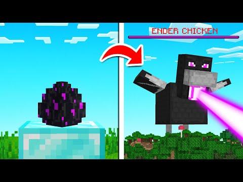 We BATTLED A Giant ENDER CHICKEN! (Minecraft)