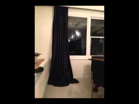 Puddle Curtains: Extra long Curtains