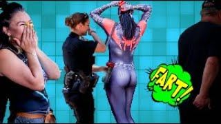 Funny Wet Fart Prank at Comic Con 2019   The Sharter Toy   Shartweek Episode 5