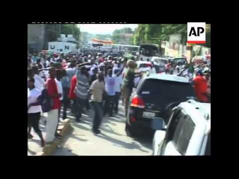 WRAP Wyclef Jean officially files his candidacy for Haitian president, rally