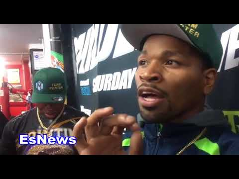 Shawn Porter: Keith Thurman Hits Harder Then Errol Spence EsNews Boxing
