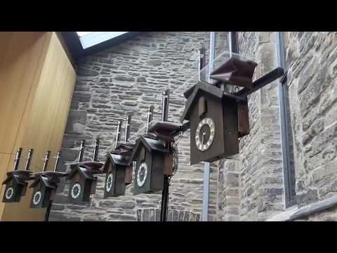 Kuckucksuhrenorgel / cuckoo clock organ