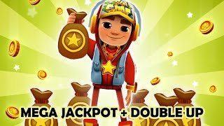 Subway Surfers - MEGA JACKPOT + DOUBLE UP