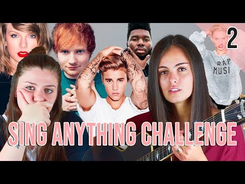 Sing Anything Challenge | Opposite (PART 2)