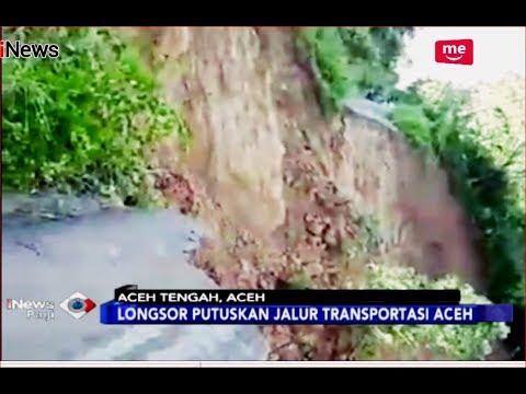 Detik-detik Longsor Besar di Aceh Tengah Terekam Video Warga - iNews Pagi 14/12