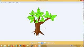 วาด Clipart รูปต้นไม้ ด้วย Inkscape - Drawing Tree by Inkscape