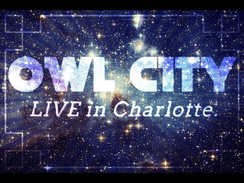 Owl City - Cloud Nine - LIVE 2018 in Charlotte, NC