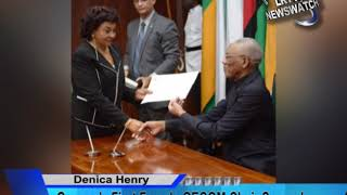 Guyana's First Female GECOM Chair Sworn In. News for 30th July, 2019