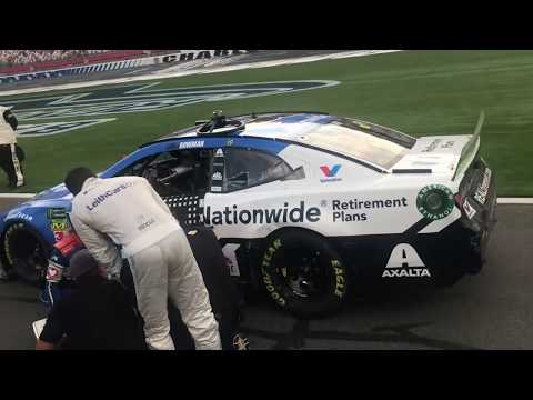 Jeff Kent - Bubba Wallace throws water in Alex Bowman's face, what's up with that?