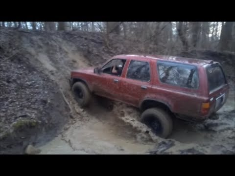 4x4 toyota 4-runner and ford explorer farm trail...