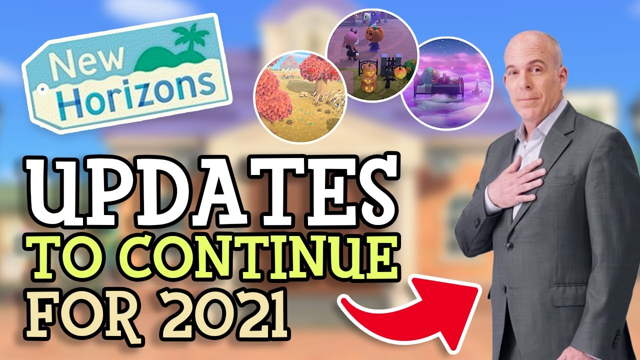 Animal Crossing New Horizons UPDATES CONFIRMED FOR 2021 (Nintendo President Says Events To Continue)