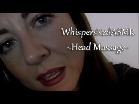 Asmr Head Scalp Massage In The Rain Whispered Youtube