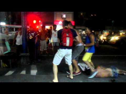 Bloody Fight in Pasay City
