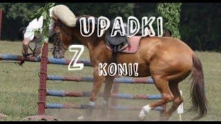 Upadki z koni!