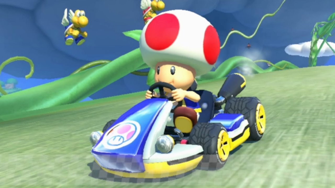 Mario Kart 8 Toad Gameplay Hd Youtube