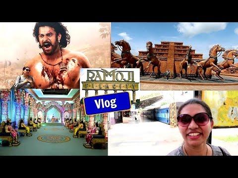 #kabitasvlogs | Ramoji film city | Bahubali Set | Hyderabad Vlog | kabitaslifestyle | KabitasKitchen