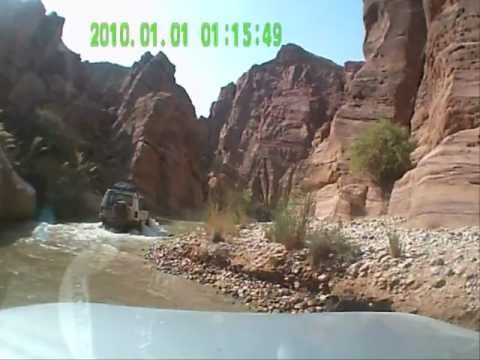 LAND ROVER & FRIENDS - ISRAEL , JORDAN RALLY ,HASSA Watar crosing 2012