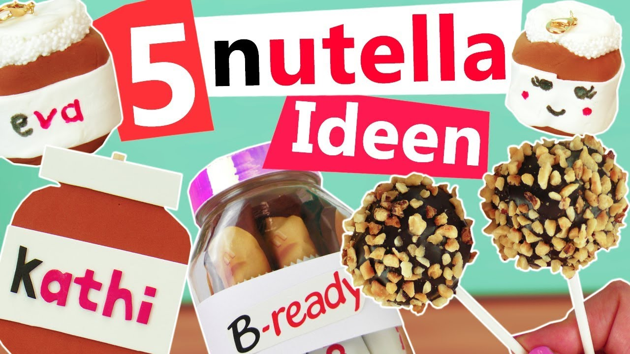 Nutella diy 5 ideen zum selber machen deko rezepte for Selbstgemachte muttertagsgeschenke