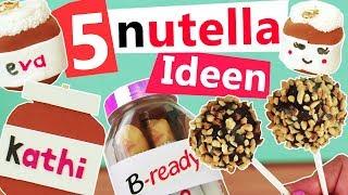 Nutella DIY - 5 Ideen zum selber machen | Deko, Rezepte, Geschenke | DIY Inspiration deutsch