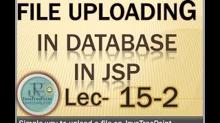 15-2-Image uploading in database and loading from database in jsp and servlet in java